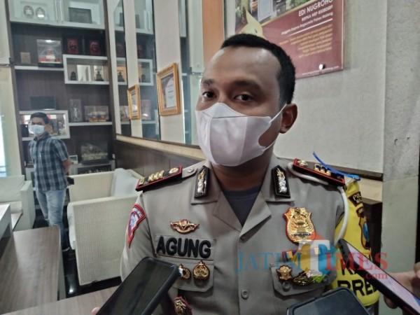 Kasatlantas Polres Malang, AKP Agung Fitransyah.(Foto: Riski Wijaya/MalangTIMES).
