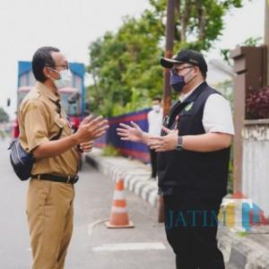 Terima Aduan Warga, Bupati Kediri Tinjau Langsung Jalan Rusak