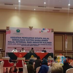 Genjot Wisata Halal, Pemkot Malang Fasilitasi Pelaku Industri Kuliner Urus Sertifikasi Halal