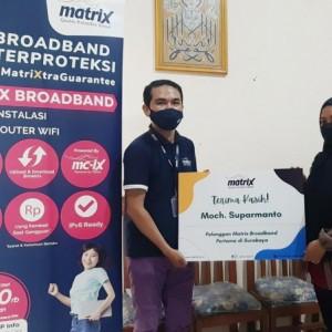 Matrix Broadband Berani Ganti Rp 100 Ribu ke Pelanggan bila Jaringan Internet Ngadat