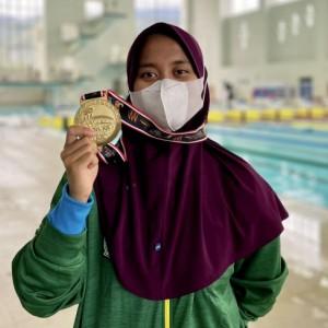 Nafa Amadea, Atlet Selam Kota Batu yang Kantongi Emas di PON XX