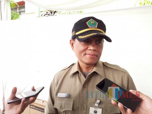 Kepala Dinas Lingkungan Hidup (DLH) Kota Malang Wahyu Setianto. (Arifina Cahyanti Firdausi/MalangTIMES).