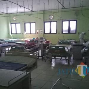 Kasus Covid-19 di Jombang  Menurun, Ruang Isolasi RS Mulai Dikurangi