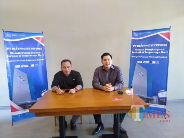 Pimpinan BPF Malang, Andri (kanan) (Anggara Sudiongko/MalangTIMES)