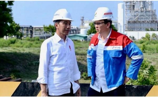 Presiden Joko Widodo dan Ahok (Foto: detikNews)