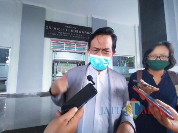 Rektor UIN Maliki Malang Prof Dr Zainuddin MA (Anggara Sudiongko/MalangTIMES)