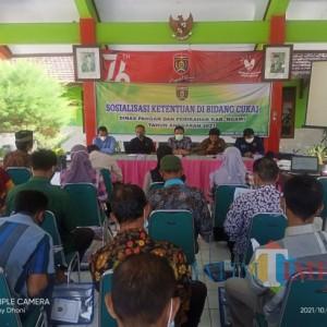 Dinas Pangan dan Perikanan Kabupaten Ngawi Ajak Masyarakat Pahami Cukai