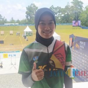 Atlet Panahan Asal Kabupaten Malang Sabet Emas PON XX Papua