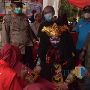 Vaksinasi Merdeka di Banyuwangi Mulai Menyasar Warga Adat Osing