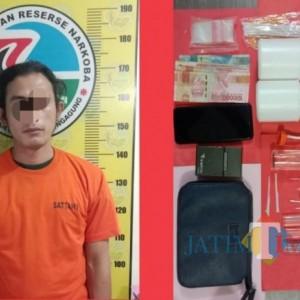 Tertangkap Polisi Tulungagung, Pria Asal Pasuruan Ini Membawa Sejumlah Sabu dan Ribuan Pil Dobel L