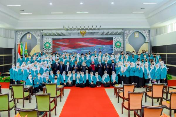 Prosesi Yudisium Fakultas Ekonomi dan Bisnis Universitas Islam Malang (Unisma)(Ist)