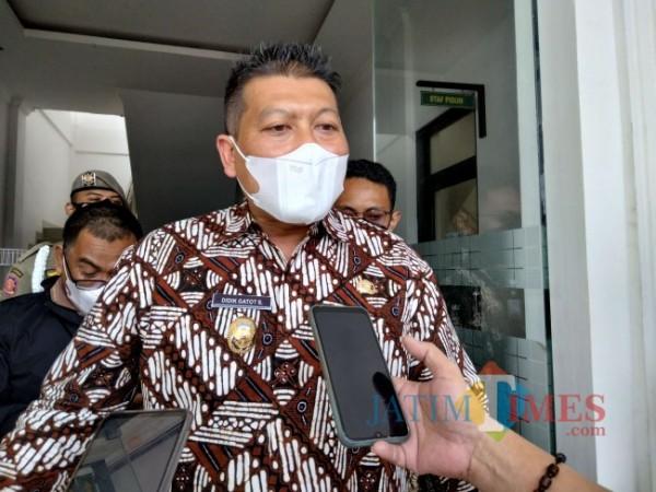 Wabup Malang Didik Gatot Subroto.(Foto:Riski Wijaya/MalangTIMES).