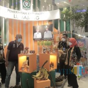 Pisang Agung dan Batik, Jadi Unggulan Lumajang Dalam Jatim Fair