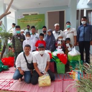Gandeng Donatur dan JatimTIMES, Rumah Sedekah NU 2 Salurkan Bantuan kepada 25 Anak Yatim
