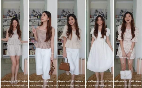 Soft outfit ideas untuk daily outfit. (Foto: Instagram @elikaboen).