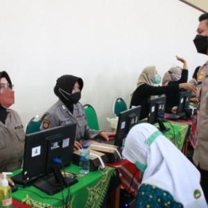 Wujudkan Herd Immunity, Polresta Malang Kota Targetkan 30 ribu Pelajar Tervaksin