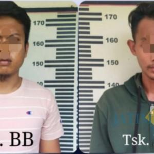 Simpan Rekapan Tombok Togel di HP, 2 Warga Kecamatan Gondang Ditangkap Polisi