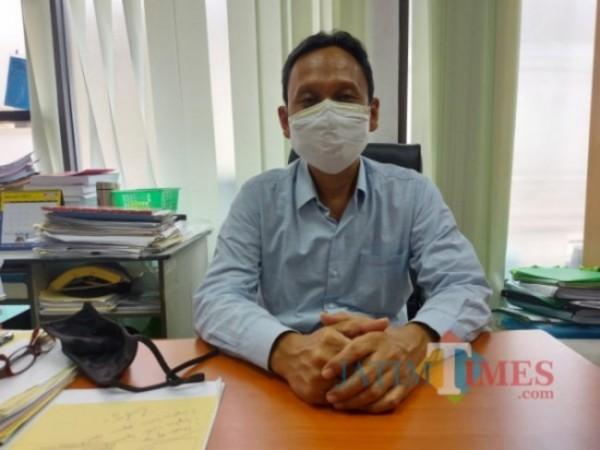 Kepala Bidang Pelayanan Perizinan dan Non Perizinan Ekonomi Pariwisata dan Sosial Budaya Disnaker-PMPTSP Kota Malang Minto Rahardjo. (Foto: Tubagus Achmad/JatimTIMES)