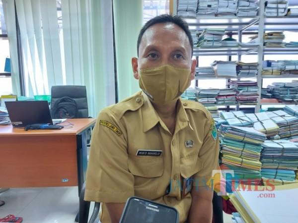 Kepala Bidang Pelayanan Perizinan dan Non-Perizinan Ekonomi Pariwisata dan Sosial Budaya Disnaker-PMPTSP Kota Malang Minto Rahardjo. (Foto: Tubagus Achmad/JatimTIMES)