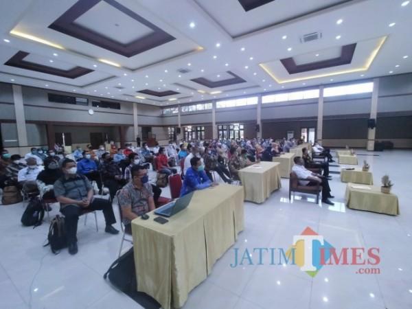 Para guru SMK yang mengikuti Diklat di BBPPMPV BOE Malang (Anggara Sudiongko/MalangTIMES)