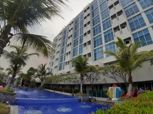 Salah satu gedung hotel di Kota Malang. (Foto: Arifina Cahyanti Firdausi/MalangTIMES).