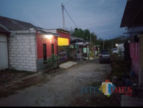 Suasana perumahan Griya Hasanah Duragan Munggut Kabupaten Madiun