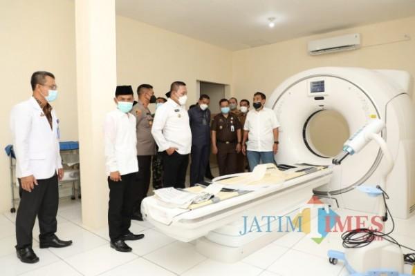 Alat CT Scan milik RSUD dr. Mohammad Zyn, Selasa (12/10/2021)