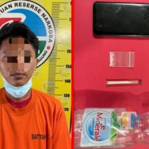Simpan Sabu, Warga Sanggrahan Ditangkap Polisi Tulungagung