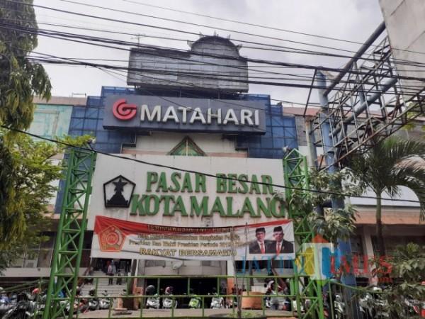 Pasar Besar Kota Malang. (Foto: Arifina Cahyanti Firdausi/MalangTIMES).