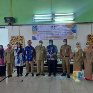 Dinas KBPPPA Kabupaten Gresik Kunjungi Kampung KB Mbois Bunulrejo, Dinsos Kota Malang Bangga