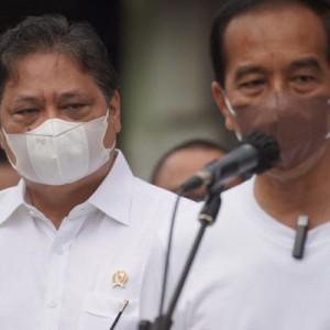 Didampingi Menko Airlangga, Presiden Jokowi Resmikan Groundbreaking Smelter Freeport di Gresik