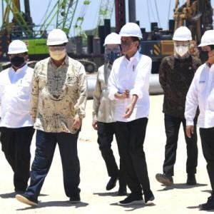 Jokowi Tandai Groundbreaking Smelter Freeport di  Gresik,  Serap 40 Ribu Tenaga Kerja