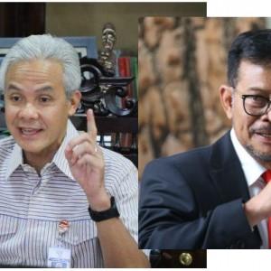 Ganjar Pranowo Dinilai Cocok Berpasangan dengan Syahrul Yasin Limpo di Pilpres 2024