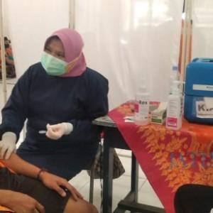 400 Warga Binaan Lapas Jember Dapat Suntikan Vaksin Covid-19