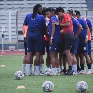 Sambut Laga Seri Kedua Liga 1, Pemain Arema FC Tunjukkan Progres