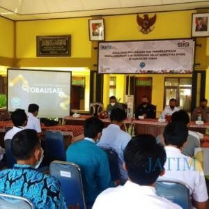 Pabrik Semen Gandeng BNNK Tuban Kampanye Dampak Buruk Penyalahgunaan Narkotika
