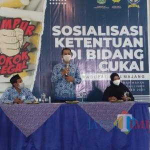 Diskominfo Lumajang Minta Masyarakat Berpartisipasi Berantas Rokok Illegal