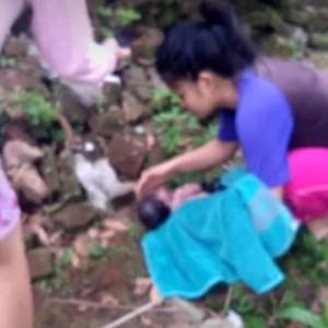Warga Tumpang Temukan Bayi Masih Hidup, Ada Bekas Cekikan di Leher