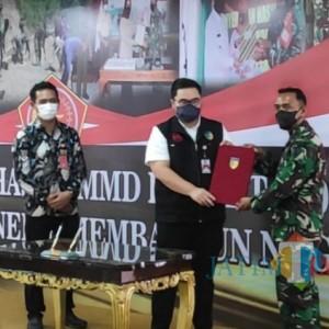 Tutup Program TNI Masuk Desa, Bupati Kediri Sampaikan Kebanggaan dan Apresiasinya