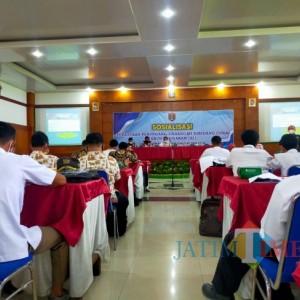 DPMD Ngawi Sosialisasi Cukai kepada Perangkat Desa
