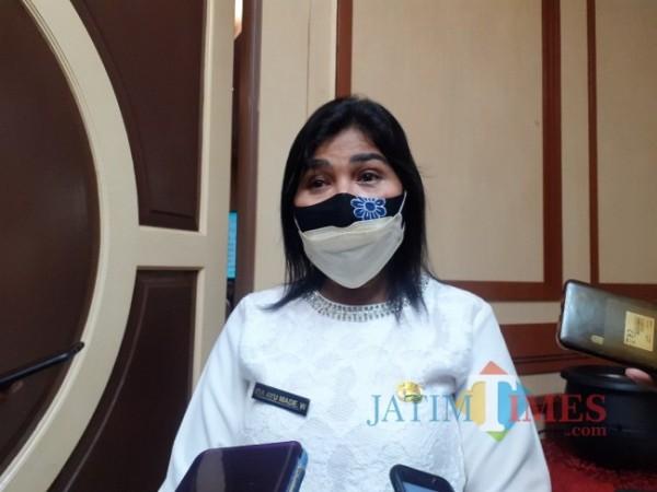 Kepala Dinas Kepemudaan Olahraga dan Pariwisata (Disporapar) Kota Malang Ida Ayu Made Wahyuni. (Arifina Cahyanti Firdausi/MalangTIMES).