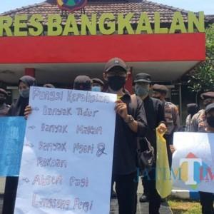 Kriminalitas Meningkat, Mahasiswa Bangkalan Minta Kapolres Mundur