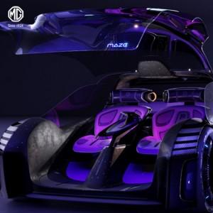MG Maze, Mobil Konsep Perpaduan Dunia Game dan Otomotif