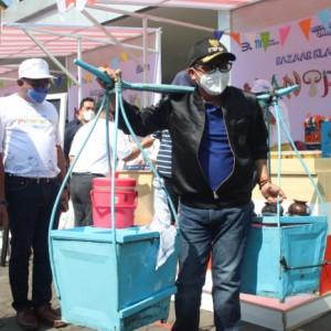 Wali Kota Sutiaji Beri Apresiasi Positif atas Gelaran Bazaar Klaster Mantriku untuk Dorong Geliat UMKM