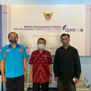 Kota Kediri Sabet Peringkat 1 Kinerja PTSP dan Percepatan Pelayanan Berusaha Kategori  Kota di Jawa Timur