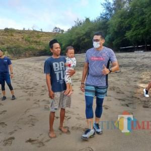 Sandiaga Uno Minta Pemkab Blitar Ikut Dukung New Normal di Kota Blitar