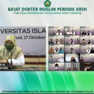 Baiat Dokter Muslim Periode XXVII, FK Unisma 5 Kali Berturut-turut UKMPPD Lolos 100 Persen