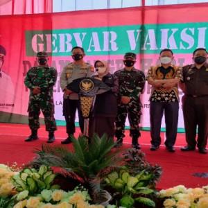 Ribuan Orang Divaksin Covid-19 jelang Hari Jadi Pemkab Jombang ke-111