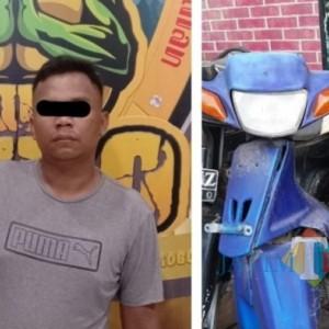 Curi Motor Milik Pencari Rumput, Warga Tempeh Kidul Digelandang Polisi