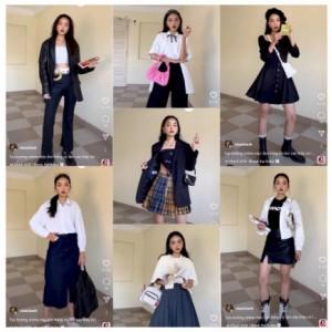 Menuju Back to School, Inspirasi Black and White Outfit Berikut Bisa Jadi Pilihan